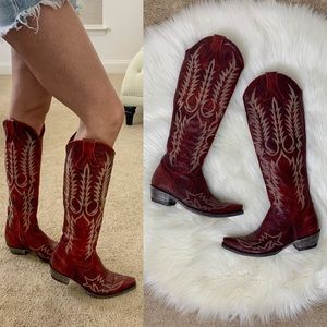 Old Gringo Mayra Red Cowgirl Boots 7.5